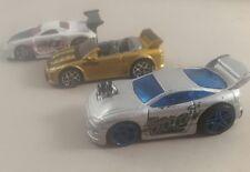 Lote coches de hotwheels japonés x3-Hot Wheels Mitsubishi y Toyota