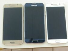 Lot of 3 SAMSUNG GALAXY S6'S VERIZON CLEAN IMEI FOR PARTS OR REPAIR