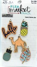 Camel Charms Pineapple Hello Leaf Metal Embellishments