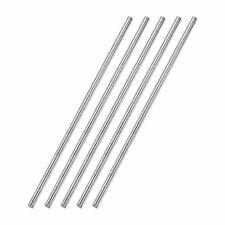 Awclub 4mm X 250mm 304 Stainless Steel Solid Round Rod Lathe Bar Stock For Sh