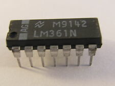 LM361N National Semiconductor High Speed Diferencial Comparator, DIP14