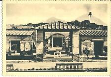 cm 256 1952 ERCOLANO (Napoli) Casa dei Cervi - Giardino e terrazze - Ed.Berretta