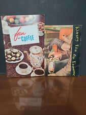 Vintage Pamphlets, Kinsey(Whiskey) Fun for Evereyone & Fun With Coffee