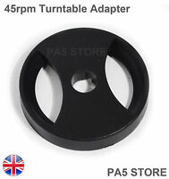 45rpm Turntable Adapter DJ Universal Technics Crosley Stanton SONY ION NUMARK