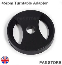 45rpm Turntable Adapter DJ Universal Technics Crosley Stanton SONY ION NUMARK