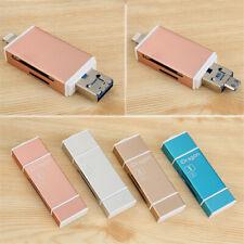 Mini Memory Stick USB Flash Drive Card Reader For iPhone 7 8 Plus Lightning OTG