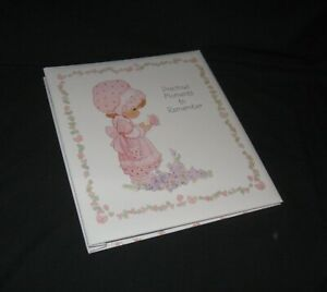 "Hallmark Precious Moments Photo Album, 12 5/8 x 10 7/8"" hardback binder"