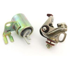 Ignition Tune Up Kit Points & Condenser - Hitachi - Honda Z50 CT/SL/XL70 XL/XR75