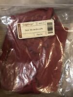 Longaberger SMALL Boardwalk Basket  Fabric LINER ONLY NEW  PAPRIKA RED