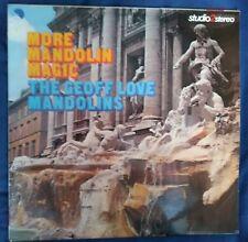 1975 黑膠唱片 LP The Geoff Love Mandolins – More Mandolin Magic UK