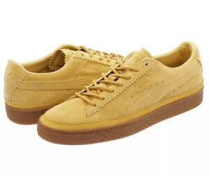 Puma Suede Classic Brogue Lace Up Taffy Leather Trainers 366631 03 size US 11.5