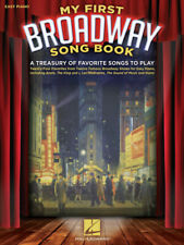 My First Broadway Song Book - Easy Piano Songbook 312641