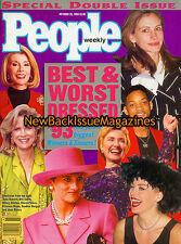 People 10/93,Julia Roberts,Best & Worst Dressed 1993,Sharon Stone,NEW