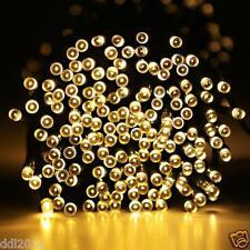 Outdoor Solar Power 100/200 LED String Fairy Light Xmas Garden Party Home Decor