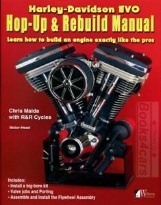 HARLEY DAVIDSON EVO ENGINE REBUILD MANUAL MAIDA BOOK