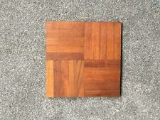 GENUINE TEAK PARQUET FLOORING, RECLAIMED, GOOD COND, SELLING IN 20 PIECE SETS.