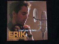 Erik Segerstedt - I Can't Say I'm Sorry (Single CD)