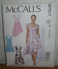 Womens/Misses Bilevel Dresses Sewing Pattern/McCall's M7317/SZ 6-14/UCN
