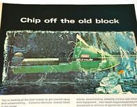 Coleman Snowmobile 1970 Vintage Print Ad Skiroule Snow Machine Winter Outdoors