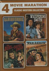 WESTERN  DVD - 4 MOVIE MARATHON - CLASSIC COLLECTION - RARE - FREE POSTAGE AUS
