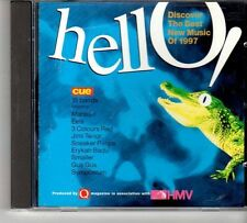 (FD639A) Hello! The Best New Music of 1997 - sealed 1997 Q Magazine CD