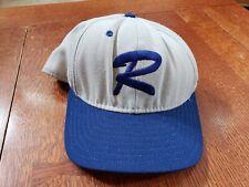 Vintage Delong Baseball Cap Gray Blue Omaha Royals 6 3/4 Player #19 ?