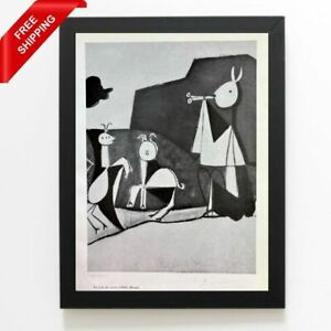 Pablo Picasso - La Joie de Vivre, Original Hand Signed Print with COA
