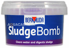 More details for bermuda sludge bomb pond crystal clear water breaks down waste healthy fish koi