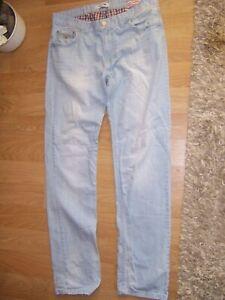 Herren Jeans  -  TOMMY HILFIGER DENIM  -  Gr. W36  -  Hellblau
