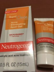 Neutrogena Rapid Clear Acne Eliminating Spot Gel 0.5 Ounce