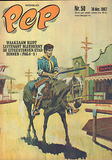 PEP 1967  nr. 50 - BLUEBERRY (COVER) /CUBY + BLIZZARDS / OUTSIDERS / COMICS
