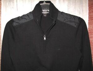 NWT Michael Kors Mens Sweater Size Small Black $69.00