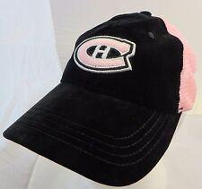 Montreal Canadiens NHL hockey cap hat adjustable  reebook roger edwards