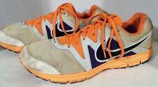 2011 Nike Lunarfly 3,487753-108,Trail Running Sneakers,Grey/Orange,US14 Eur48.5