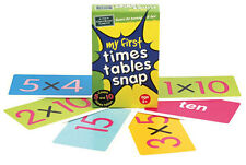 NEW The Green Board Game Co My First Times Tables Snap Cards 5 & 10 times table
