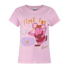 Magliette, maglie e camicie rosa a manica corta per bambine dai 2 ai 16 anni Taglia 7-8 anni