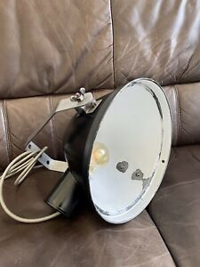 Alte Industrielampe Strahler, Bauhaus Art Deco Fabriklampe , Werkstattlampe