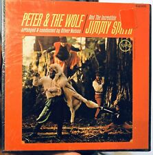 Rare! SEALED! Jimmy Smith - Peter & Wolf 4-Track Reel Tape Phil Woods 7 1/2 IPS!