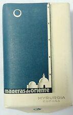 VINTAGE MADERAS DE ORIENTE MYRURGIA Espana SOAP