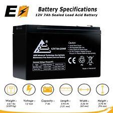 ExpertBattery 12V 7Ah SLA Battery Replaces Enduring 6-FM-7