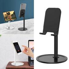 Tablet Cell Phone Desk Desktop Mount Stand Holder Adjustable Universal Aluminum