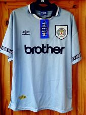Manchester City 1993-1995 Umbro Vintage Football Shirt Brother - with shop tags