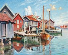 Johan   Ericson Motifs From Smogen   - 24'  CANVAS