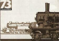 catalogo FULGUREX 1973 Spur O HO OO                 E D F  aa