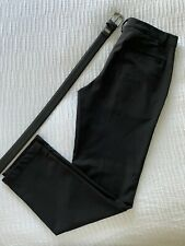 Puma Black Golf Pants 32 x 32 & Leather Nike Belt 34 Free Shipping