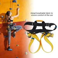 Climbing Harness Half Body Fall Protection Safety Belt for Outdoor Rock Climbing