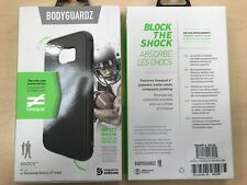 BodyGuardz Shock Case for Samsung Galaxy S7 Edge Gray (Black)