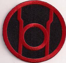 Green Lantern - Red Lantern - Logo Patch Uniform Aufnäher - zum Aufbügeln - neu