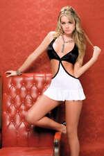 SEXY abito Vestito Nero/Argento disco clubwear taglia S Fashion GLAMOUR