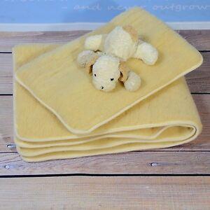 Baby Bettdecke Steppbett Kissen Lammwolle Merino Wolle 100%
